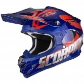 SCORPION VX-15 Evo Air Defender Blue / Red