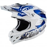SCORPION VX-15 Evo Air Defender White / Blue