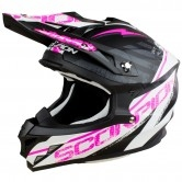 SCORPION VX-15 Evo Air Gamma Matt Black / White / Pink