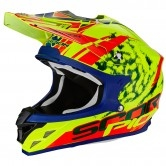 SCORPION VX-15 Evo Air Kistune Neon Yellow / Red