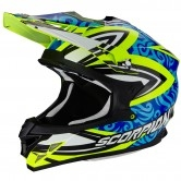 SCORPION VX-15 Evo Air Revenge Neon Yellow / Blue / Black