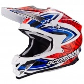 SCORPION VX-15 Evo Air Revenge White / Red / Blue