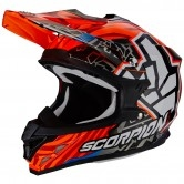 SCORPION VX-15 Evo Air Rok Bagoros Neon Orange