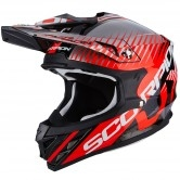 SCORPION VX-15 Evo Air Sin Black / Neon Red