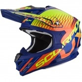 SCORPION VX-15 Evo Air Sin Blue / Orange