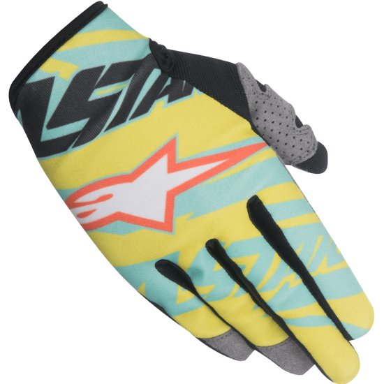 Guantes ALPINESTARS Racer 2015 Tomac LE Y / Teal / N / OR