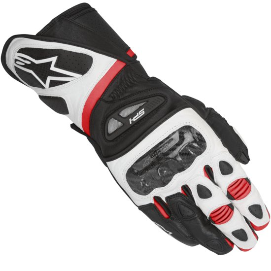ALPINESTARS SP-1 Black / White / Red Gloves
