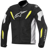 ALPINESTARS T-GP R Air Black / White / Yellow Fluo