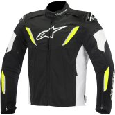 ALPINESTARS T-GP R Waterproof Black / White / Yellow Fluo
