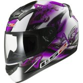 LS2 FF352 Rookie Flutter White / Purple