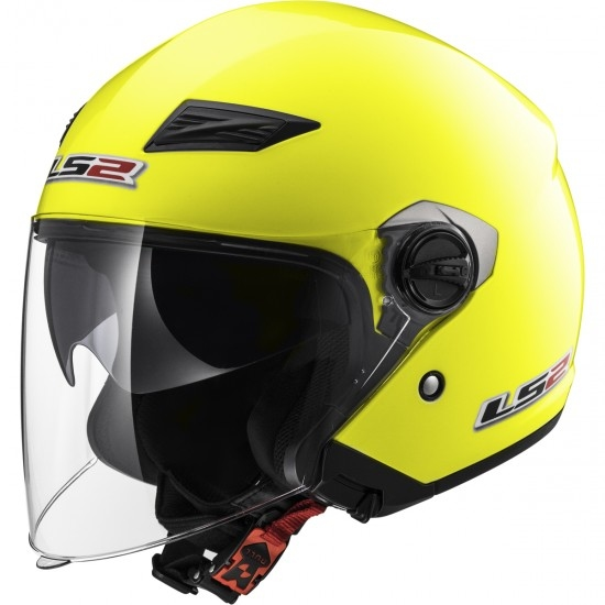 Casco LS2 OF569 Track H-V Yellow