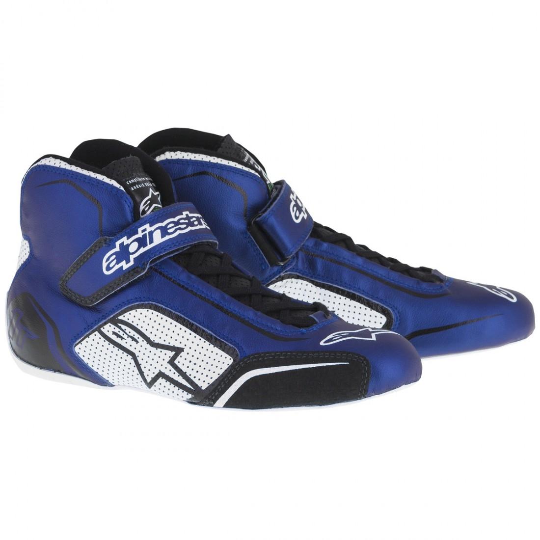 Alpinestars Tech  T Shoe White Blue