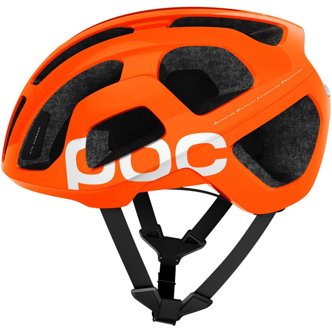 poc octal avip zinc orange helmet motocard. Black Bedroom Furniture Sets. Home Design Ideas