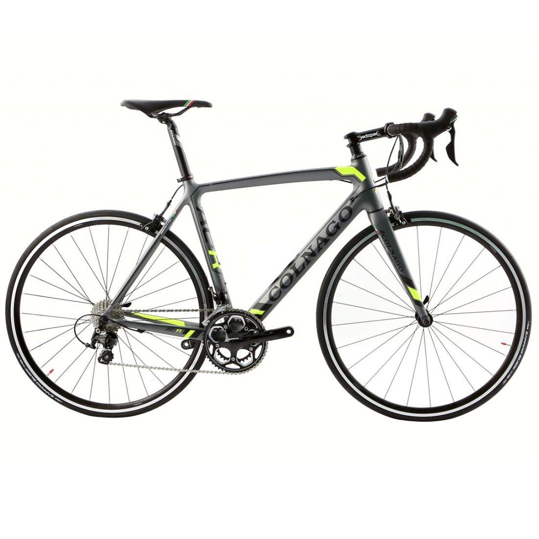 COLNAGO AC-R Shimano 105 2015 Grey / Yellow Road bike · Motocard