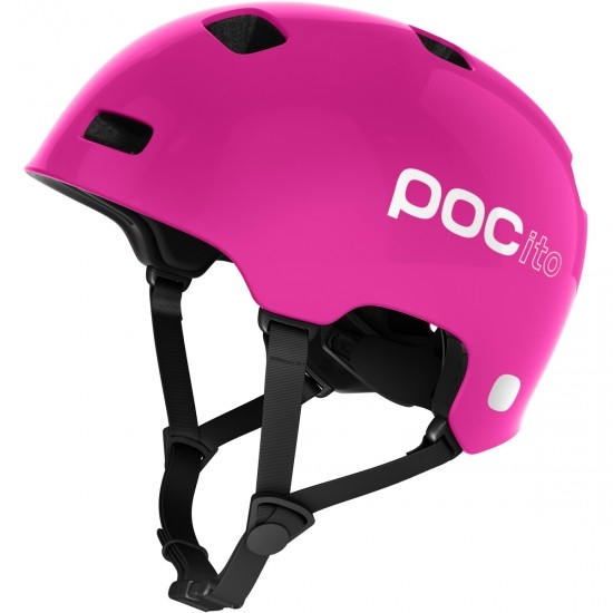Casque POC POCito Crane Junior Fluorescent Pink