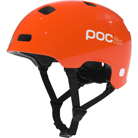 POC POCito Crane Junior Orange Zinc Helmet