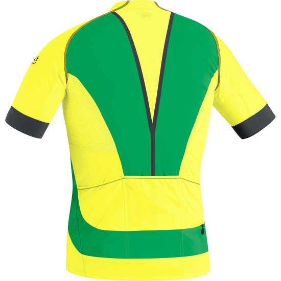 Maglia GORE ALP-X Pro Cadmium Yellow / Fresh Green