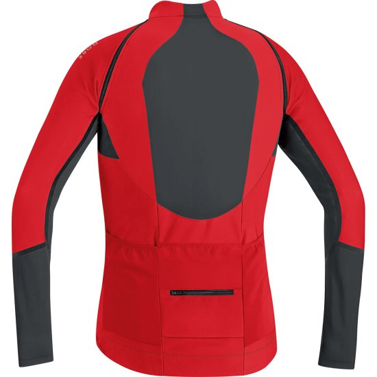 Veste GORE ALP-X Pro Windstopper Soft Shell Red / Black