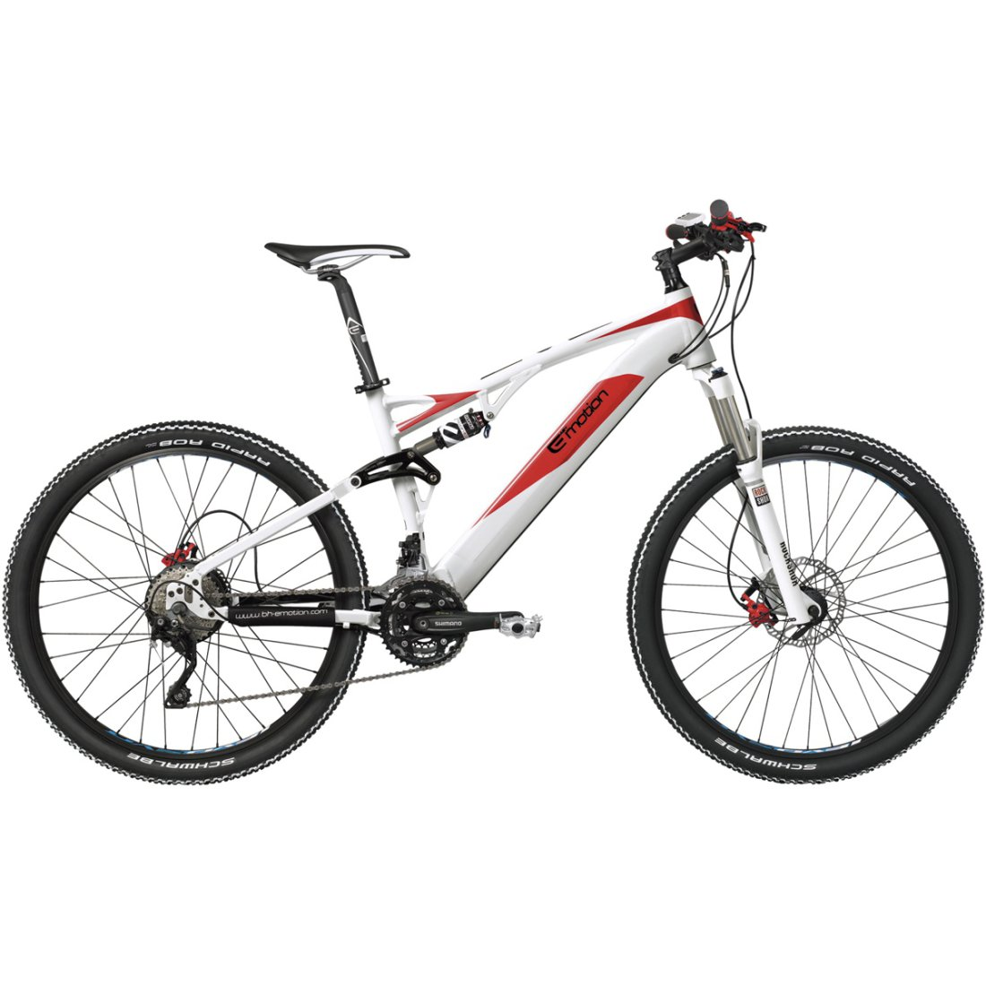 Bh Evo Jumper 275 2015 White Red Mountainbike Motocard