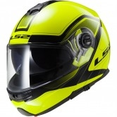 LS2 FF325 Strobe Civik Hi Vis Yellow / Black