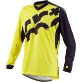 MAVIC Crossmax Long Sleeves Yellow Mavic / Black