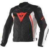 DAINESE Avro D1 Black / White / Fluo-Red