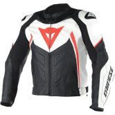 DAINESE Avro D1 White / Black / Fluo-Red