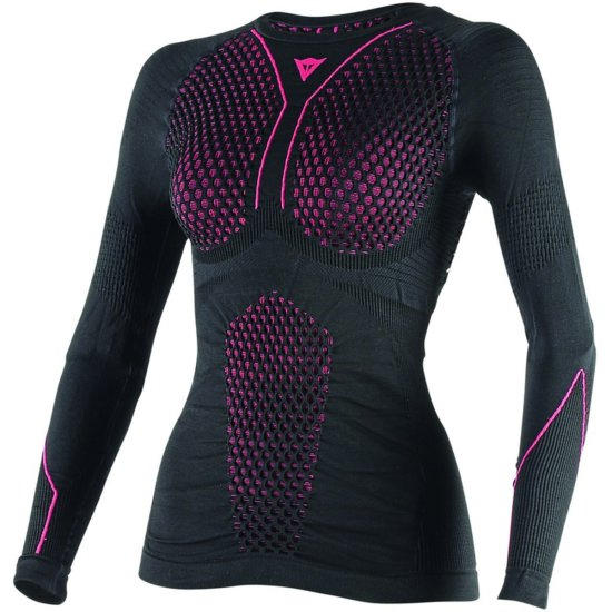 DAINESE D-Core Thermo LS Lady Black / Fuchsia Thermal