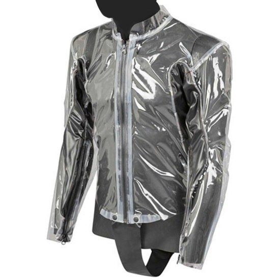 Impermeable DAINESE Racing D1 Transparent / Black