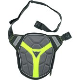 DAINESE D-Exchange Leg Bag Small Black / Anthracite / Yellow Fluo
