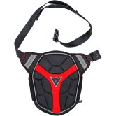 DAINESE D-Exchange Leg Bag Small Black / Red
