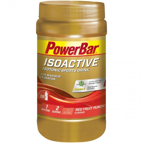 Nutrition POWERBAR Isoactive Red Fruits Punch Flavour 600gr.