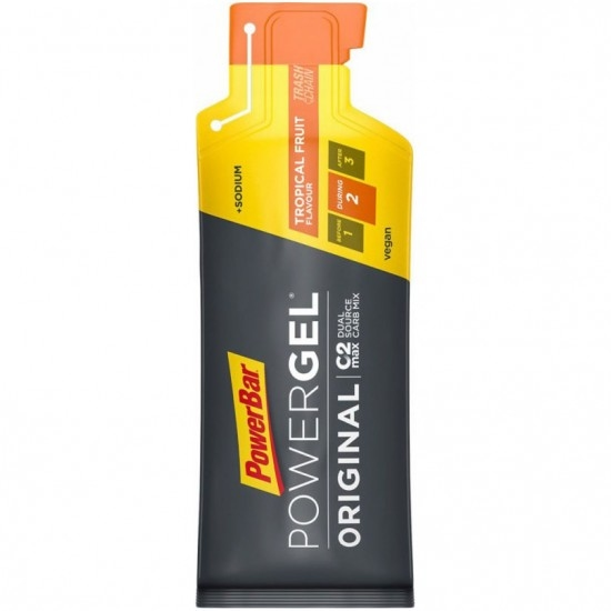 POWERBAR PowerGel Original Tropical Fruit Nutrition