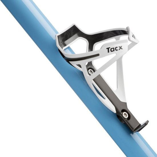 TACX Deva bottle cage white Water bottle