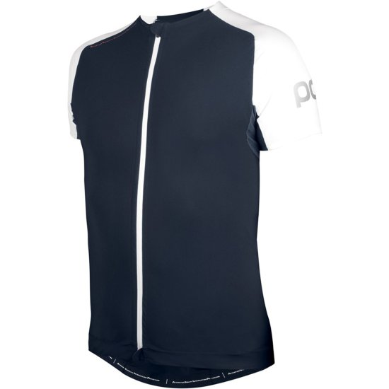 Maglia POC AVIP Backprotection Navy Black / Hydrogen White