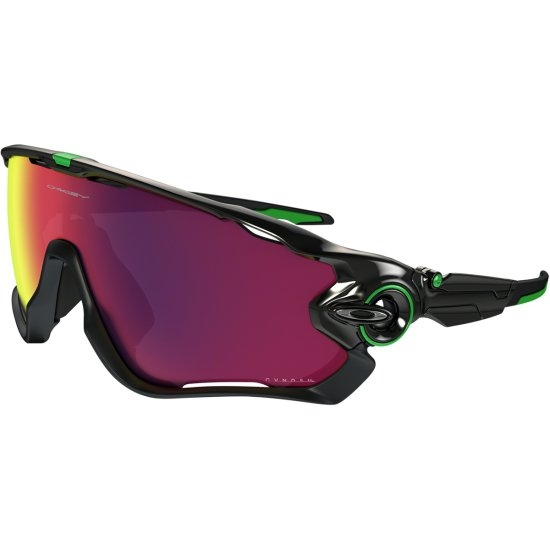 045ab757d6 OAKLEY Jawbreaker Cavendish Signatures Series Polished Black  Green Prizm  Road Mask   Goggle