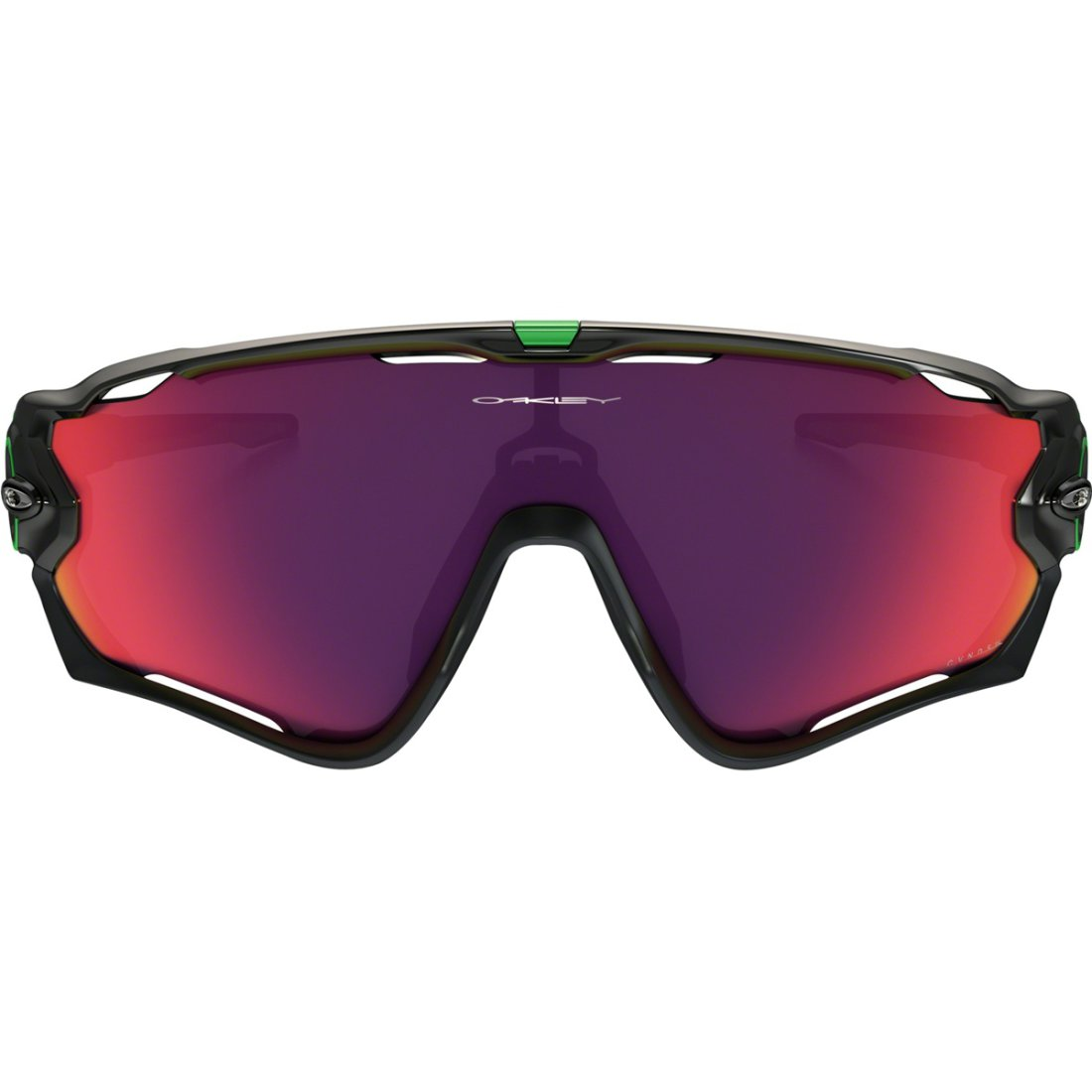 157c4929e5 OAKLEY Jawbreaker Cavendish Signatures Series Polished Black  Green Prizm  Road Mask   Goggle