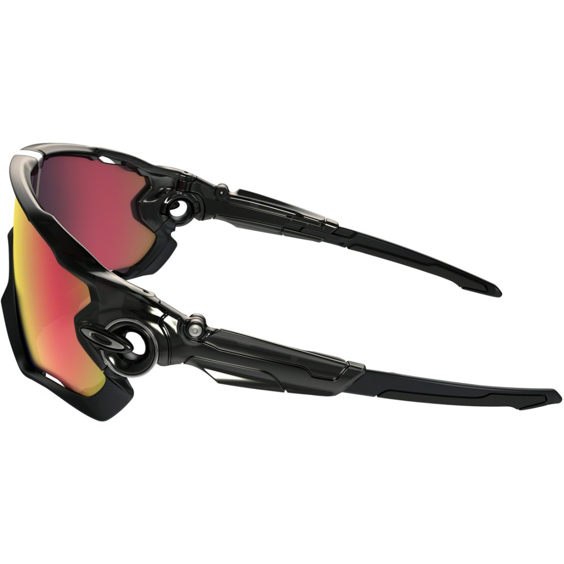 2d833ae210 OAKLEY Jawbreaker Black Ink   Red Iridium Polarized Mask   Goggle ...