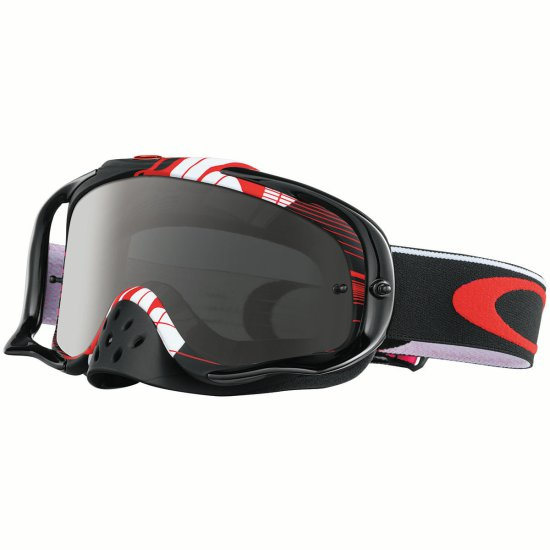 Gafas OAKLEY Crowbar MX Dungey Signature Series Block Pass Red Dark Grey