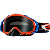 OAKLEY Mayhem Pro MX Troy Lee Designs Zap Orange Dark Grey