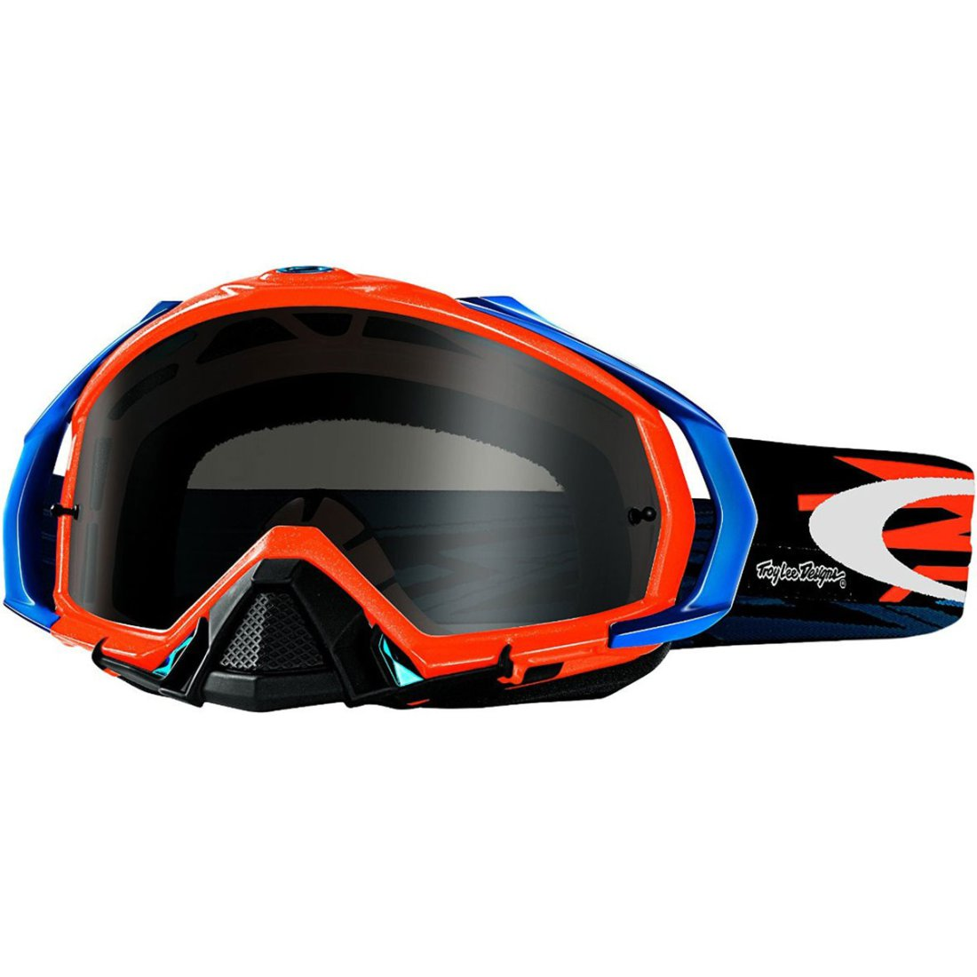 c7b788e4d8 OAKLEY Mayhem Pro MX Troy Lee Designs Zap Orange Dark Grey