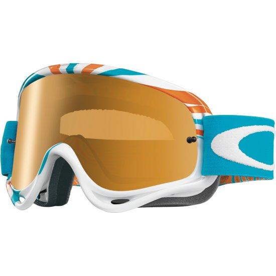 Máscara / Gafas OAKLEY MX O-Frame RPM Orange / Blue Fire Iridium