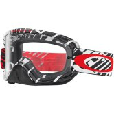 OAKLEY O2 MX Skull Rushmore Red Clear
