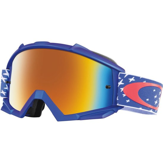 Gafas OAKLEY Proven MX Troy Lee Designs Starburst RWB Fire Iridium