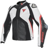 DAINESE Super Rider Estiva Black / White / Fluo-Red