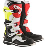 ALPINESTARS Tech 1 Black / White / Yellow Fluo / Red