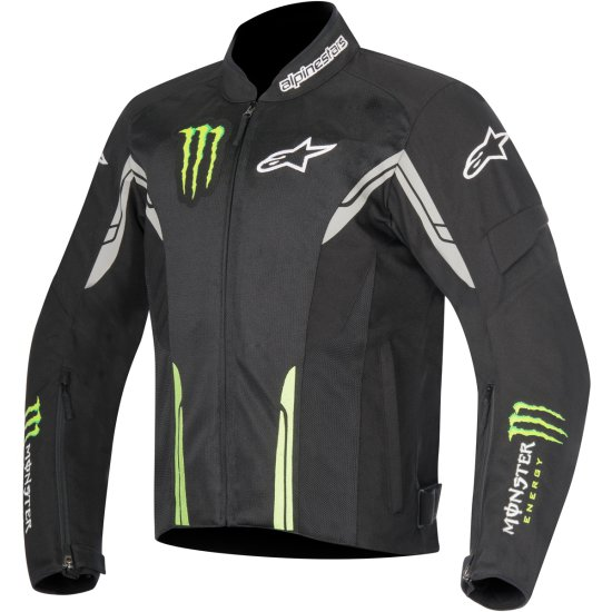 Chaqueta ALPINESTARS Zeph Air Monster Black / Green