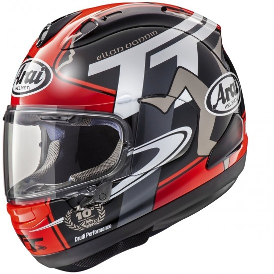 Casco ARAI RX-7V Isle of Man TT 2018 Limited Edition