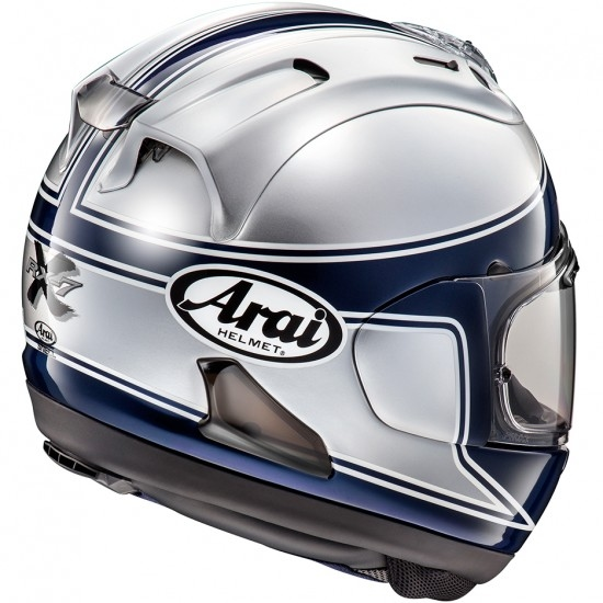 Casco ARAI RX-7V Spencer 40th Silver