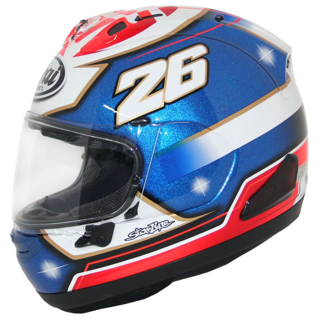 arai rx 7v pedrosa samurai helmet motocard. Black Bedroom Furniture Sets. Home Design Ideas